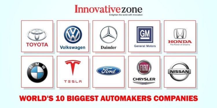 World S 10 Best Automobile Companies In The World Innovative Zone