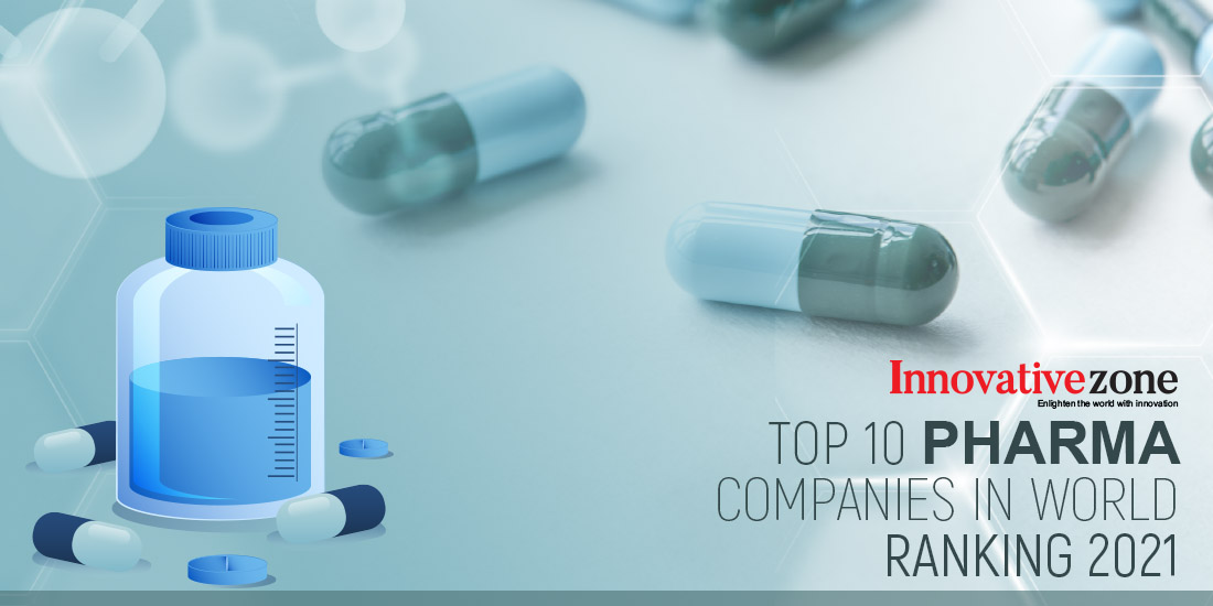 Top 10 pharma companies in the world - Ranking 2021